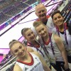 Great Britian Team with National Coaches Amanda Reddin and Colin Still