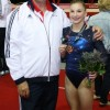 Kelly and Keith after World Championships Bronze