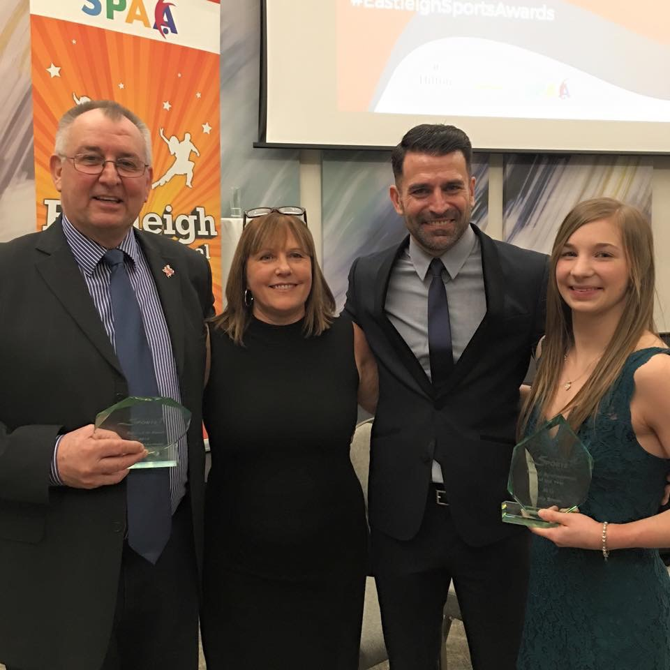 Gymnast Kelly Simm honoured again at Eastleigh Sports Awards